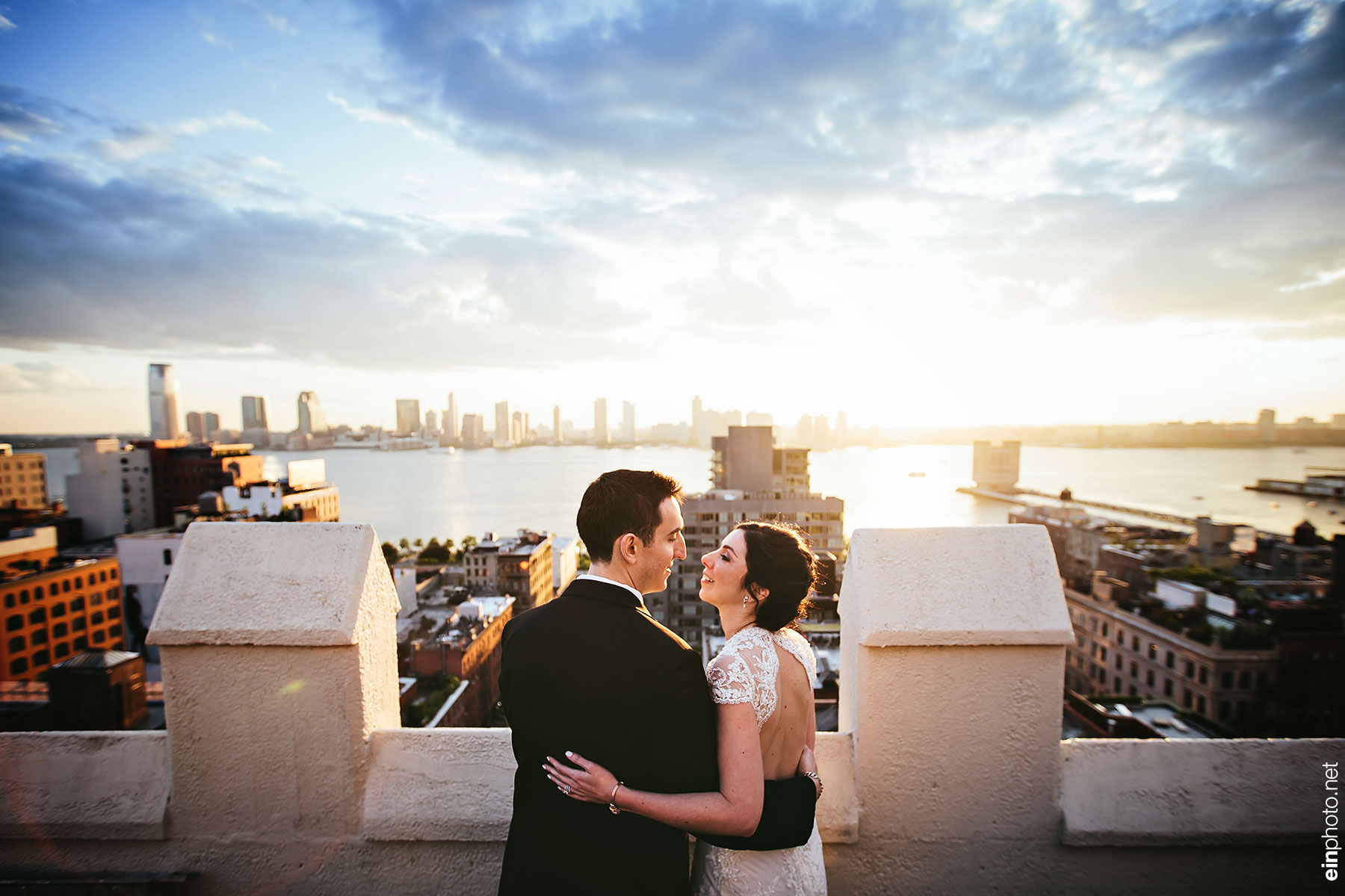 Tribeca Rooftop Wedding 0964