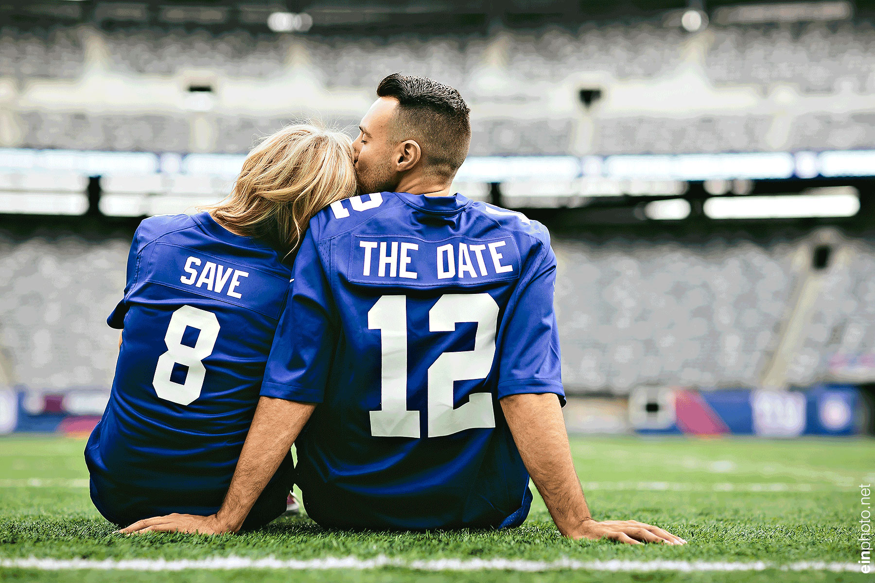 MetLife Stadium Engagement Session
