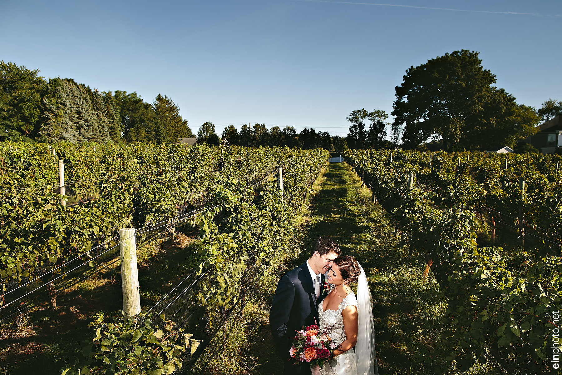Vineyard Caterers Wedding