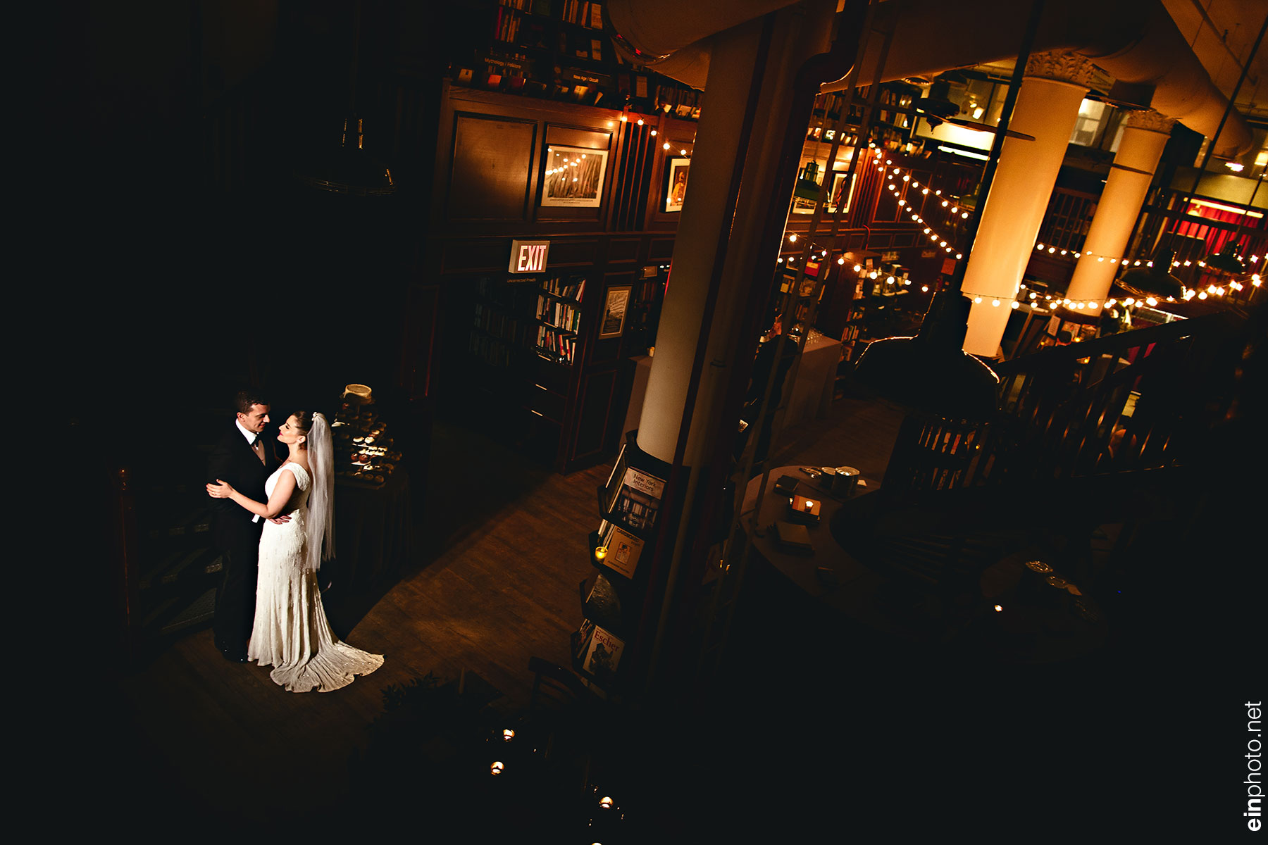 Housing Works Bookstore NYC Wedding