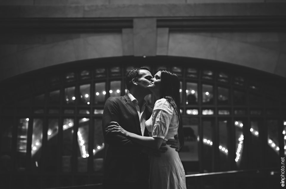 Grand Central Engagement Session