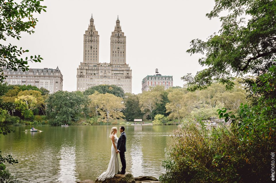 Central Park Bridal portrait session