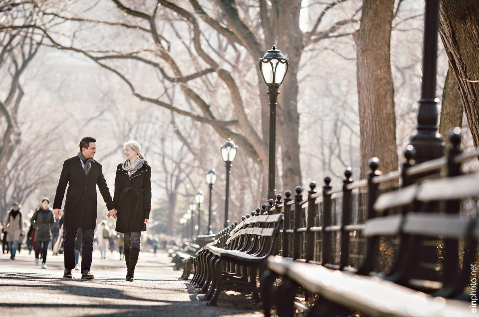Central Park NY  Engagement Session